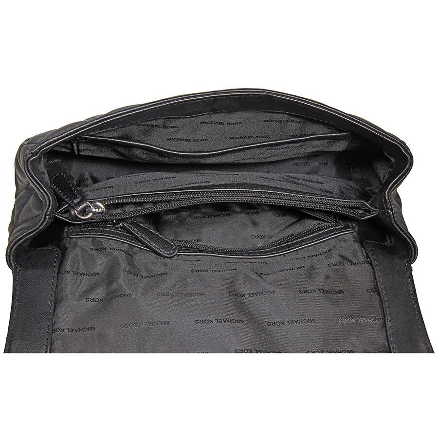 33d2f5d01e1 Michael Kors Sloan Large Quilted Shoulder Bag- Black - Sloan ...
