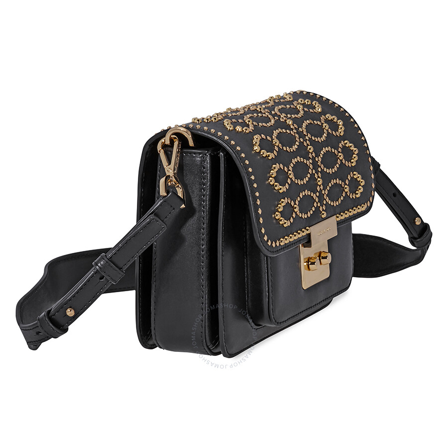 8ef751ddc968 Michael Kors Sloan Studded Leather Shoulder Bag - Black - Sloan ...