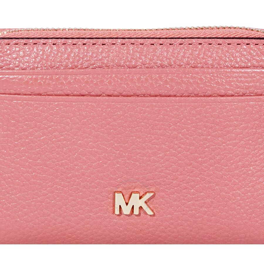 5771c4ba1e4a Michael Kors Small Pebbled Leather Wallet- Rose - Michael Kors ...