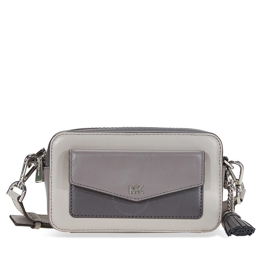 17766ba8a81f4d Michael Kors Small Pocket Camera Bag - PGR/LNGR/CH Item No. 32F8SF5M5T-974