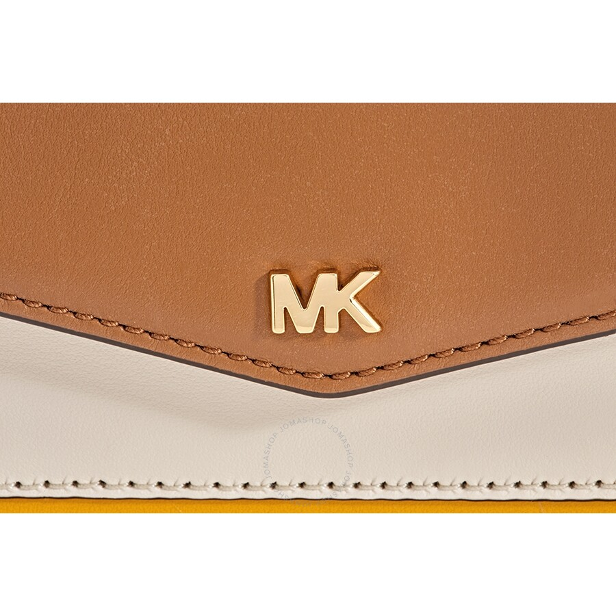 c71acc1a0fe Michael Kors Small Tri-Color Leather Camera Bag- Jasmine Yellow/Multi