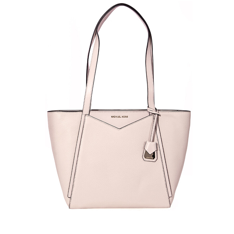 afc3fa33d994 ... sweden michael kors small whitney pebbled leather tote soft pink 1273e  1a5a7 ...