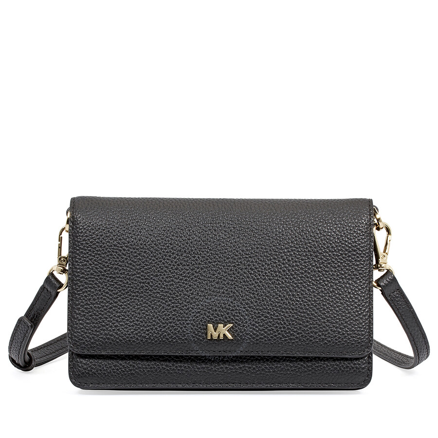 38d0981bf42a Michael Kors Smartphone Crossbody- Black - Michael Kors Handbags ...