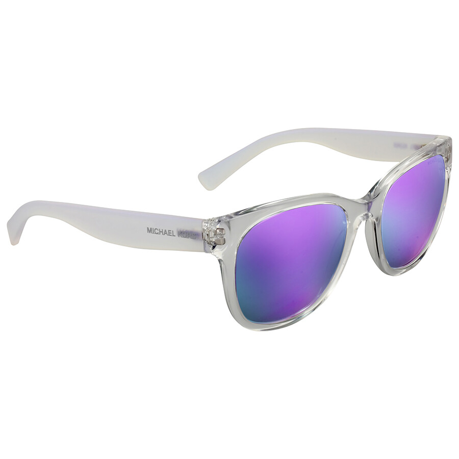 1a3172b91a Michael Kors Spring Blossoms Purple Mirror Sunglasses Michael Kors Spring  Blossoms Purple Mirror Sunglasses ...
