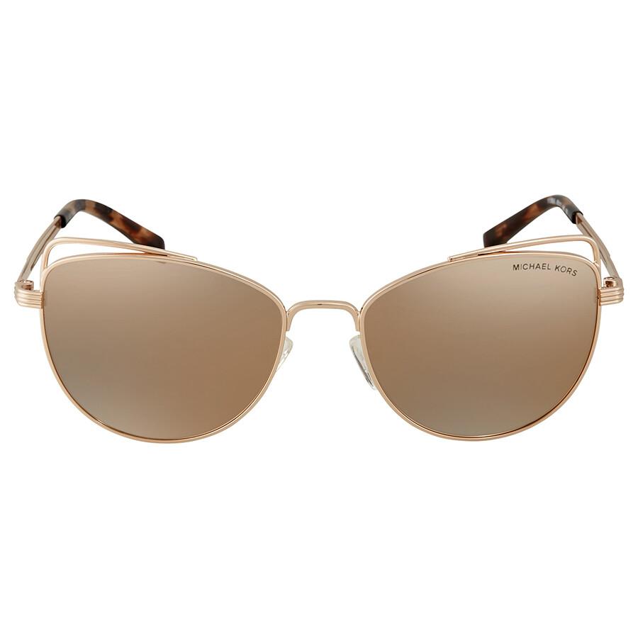 dc52b9fd632e1 ... Michael Kors St. Lucia Cat Eye Ladies Sunglasses 0MK1035 11085A 55 ...