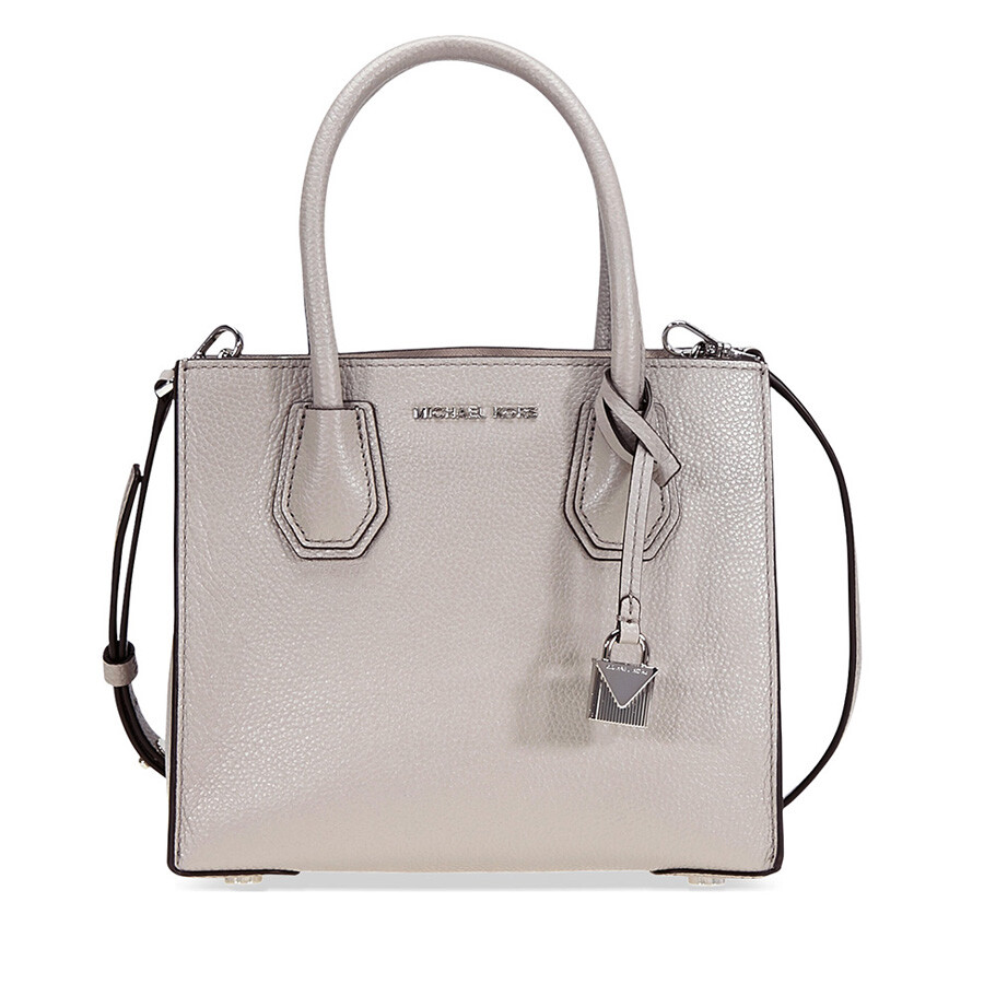 96eeb990c5c7 Michael Kors Studio Mercer Crossbody - Pearl Grey Item No. 30F6SM9M2L-081