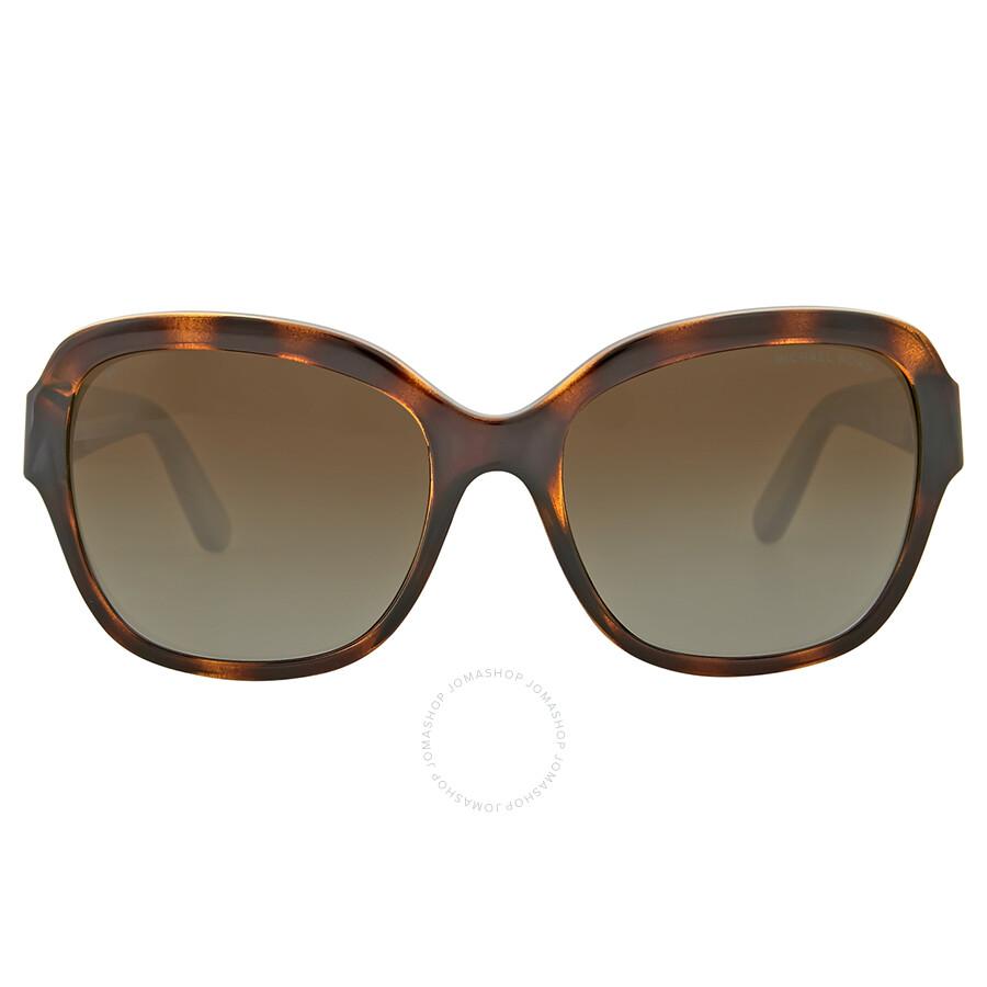 90f3dbe9b6 Michael Kors Tabitha III Brown Gradient Polarized Sunglasses Item No.  MK6027-3006T5-55