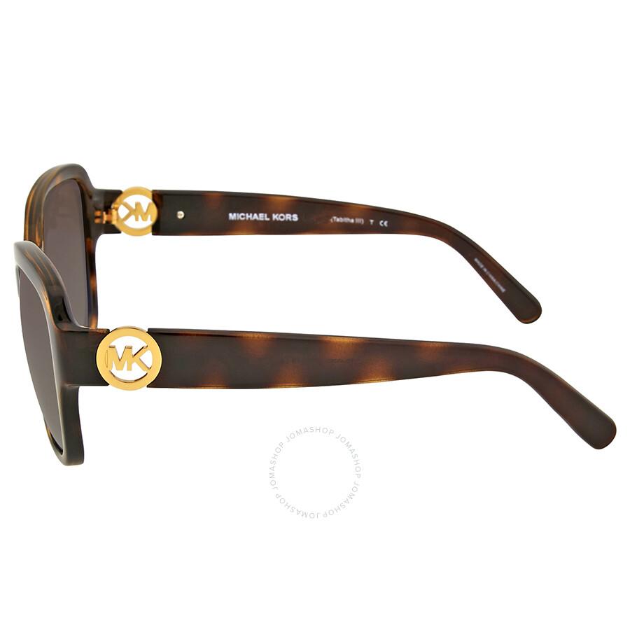 ab1e455310 ... Michael Kors Tabitha III Brown Gradient Polarized Sunglasses ...