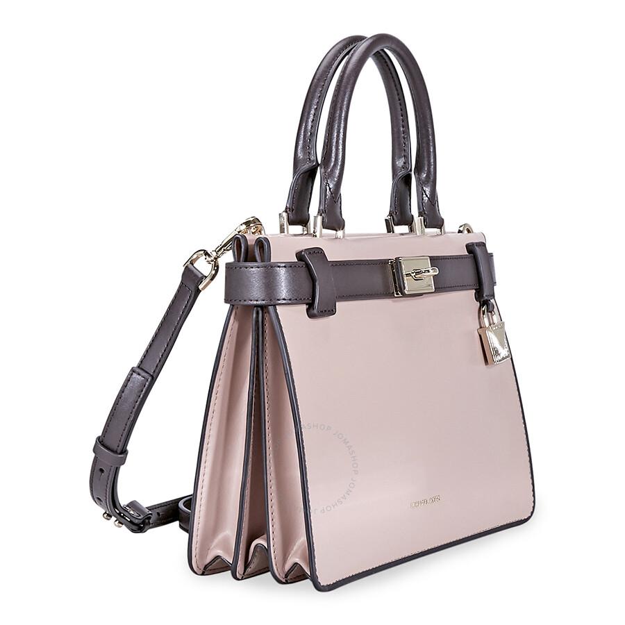 1b9bbf89ca84 Michael Kors Tatiana Small Leather Satchel- Pink Purple - Michael ...