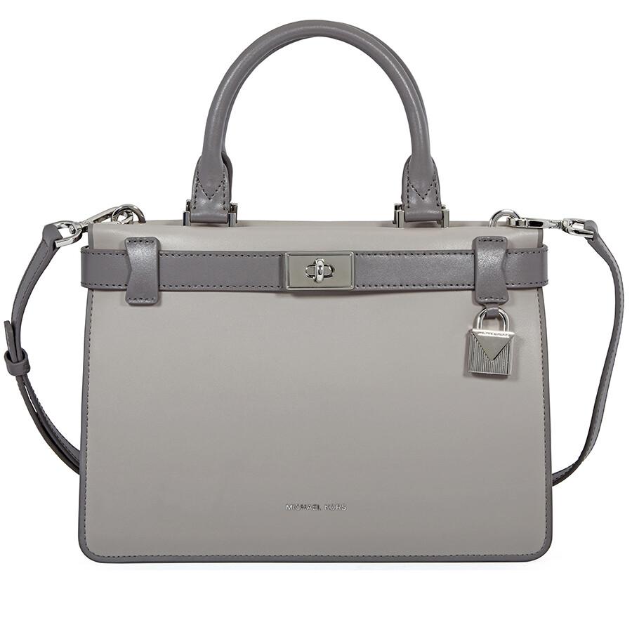 faecb6c3eafe Michael Kors Tatiana Small Leather Satchel - Michael Kors Handbags ...