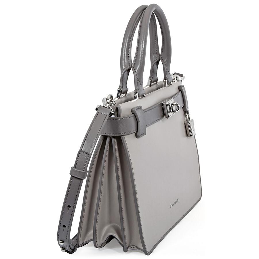 6d53c386ff78 Michael Kors Tatiana Small Leather Satchel - Michael Kors Handbags ...