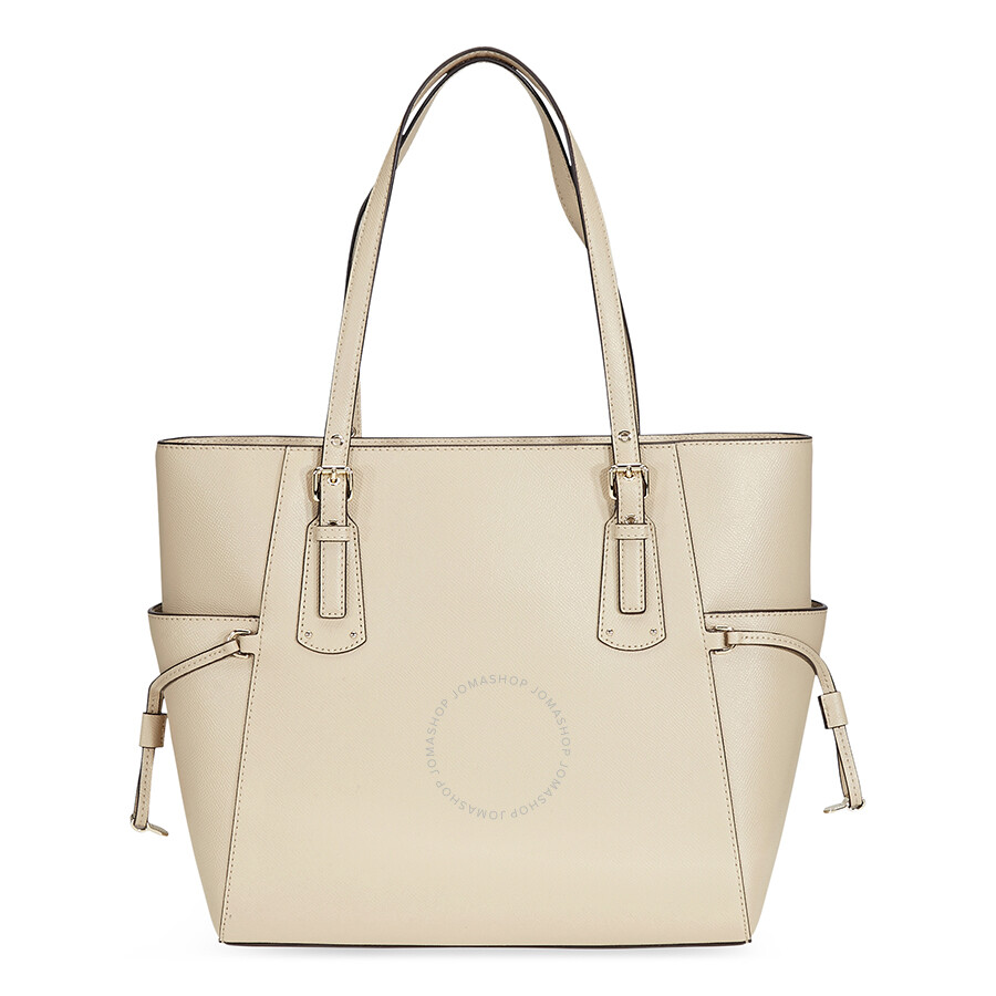 7ee70c308f Michael Kors Textured Leather Tote- Oat - Michael Kors Handbags ...