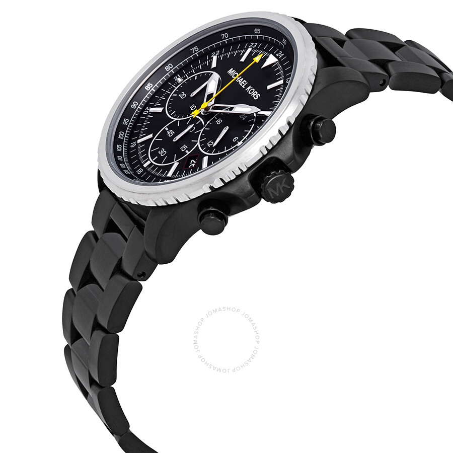 f044be10359 ... Michael Kors Theroux Black Dial Men's Chronograph Watch MK8643 ...