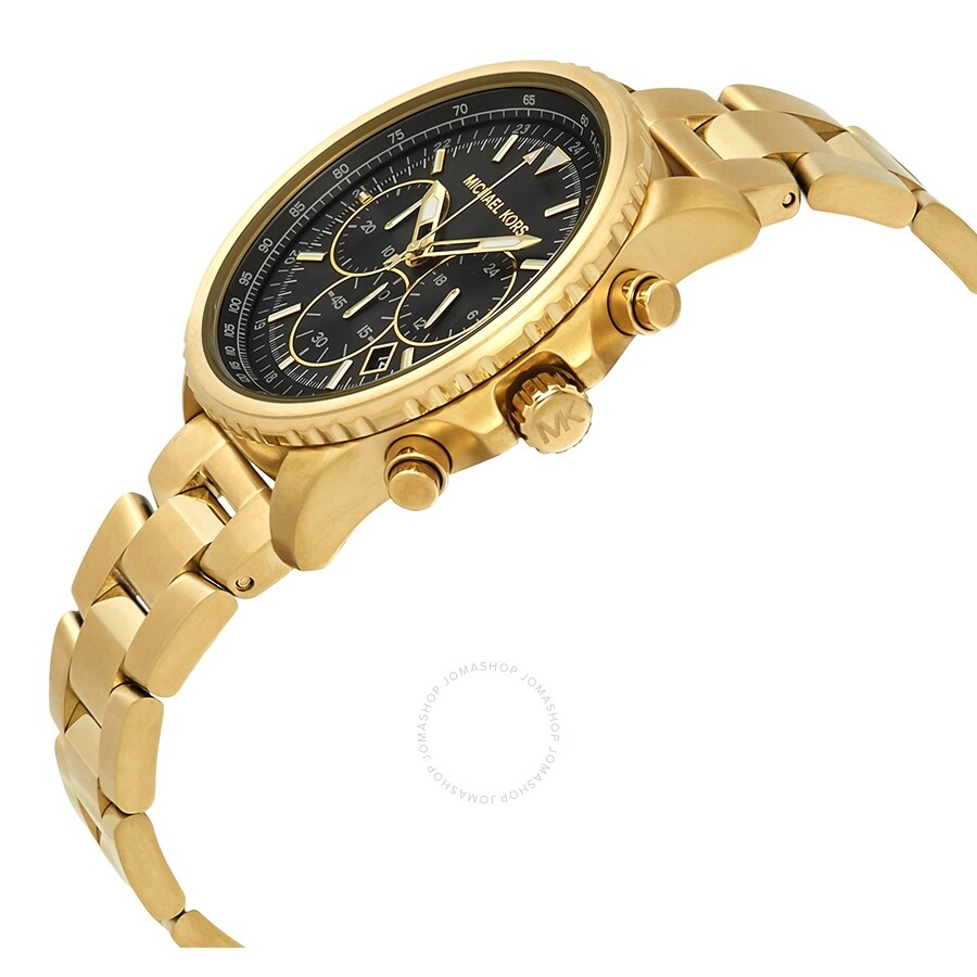 66e9889c005f ... Michael Kors Theroux Chronograph Black Dial Men s Watch MK8642 ...