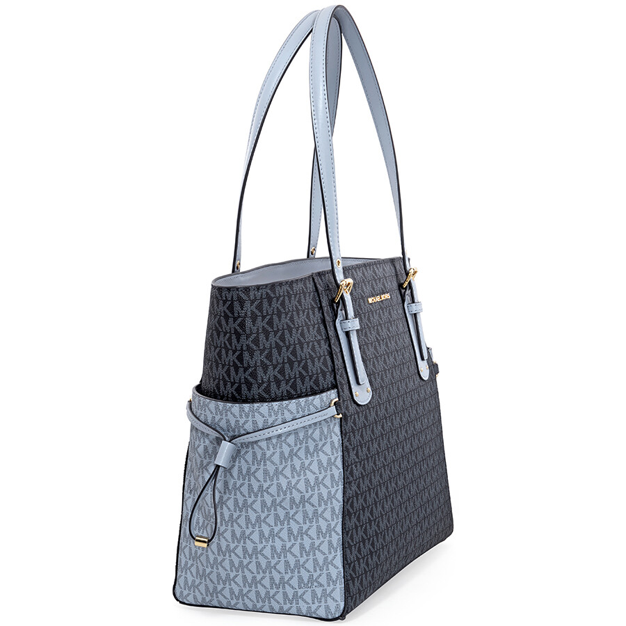 5e798fd05b856c Michael Kors Voyager East West Tote- Admiral/ Pale Blue - Michael ...