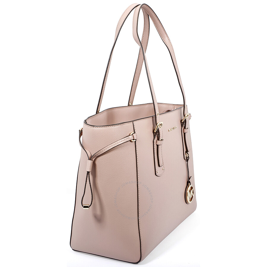 4880283f1a8f Michael Kors Voyager Medium Crossgrain Leather Tote- Fawn - Michael ...