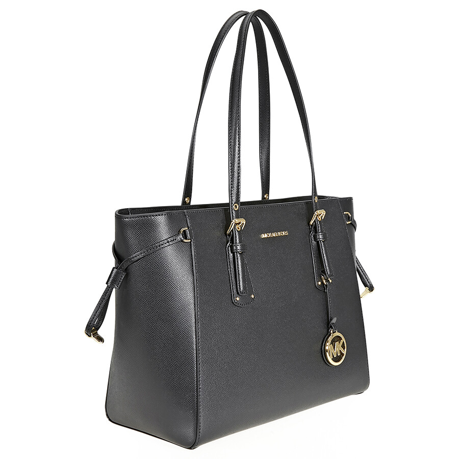Michael Kors Voyager Medium Multifunction Tote - Black - Michael ... 73715765e79ba