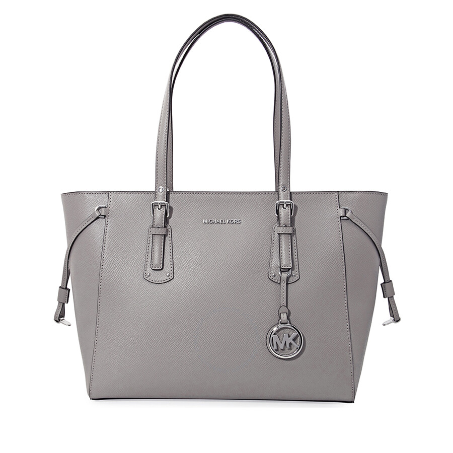 f9d79bf0d1 Michael Kors Voyager Medium Multifunction Tote - Pearl Grey Item No.  30H7SV6T8L-081