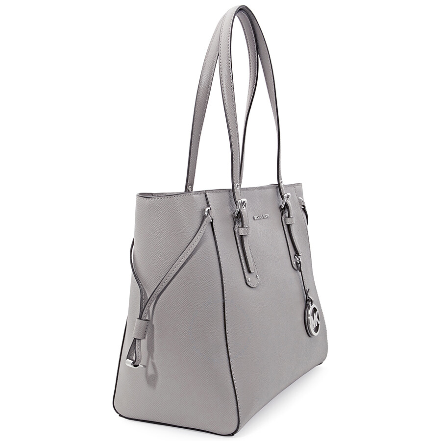 Michael Kors Voyager Medium Multifunction Tote - Pearl Grey ... 3a571f78dff20