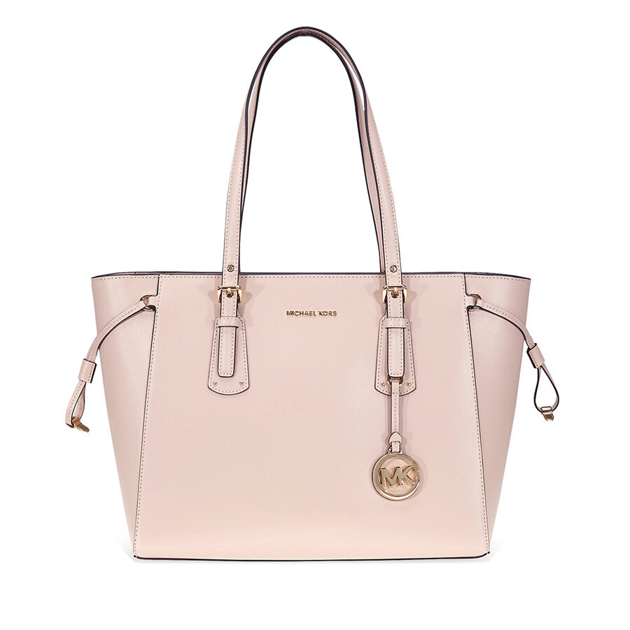 88a99cfbb36 Michael Kors Voyager Medium Multifunction Tote - Soft Pink