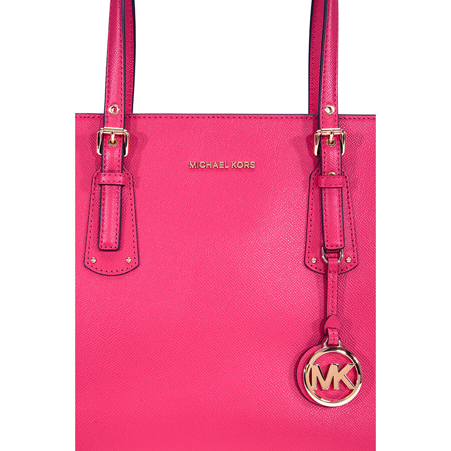 Michael Kors Voyager Medium Multifunction Tote - Ultra Pink ... 9d5af5251d