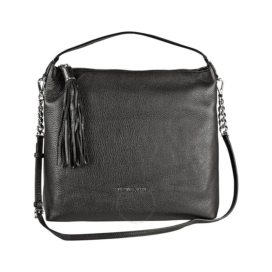 Michael Kors Weston Large Black Shoulder Bag In