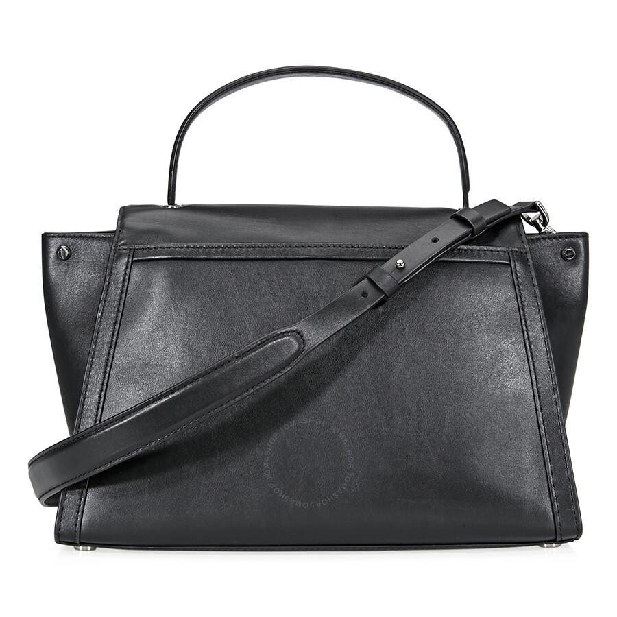 36e546e3bb3b Michael Kors Whitney Large Leather Satchel- Black - Michael Kors ...