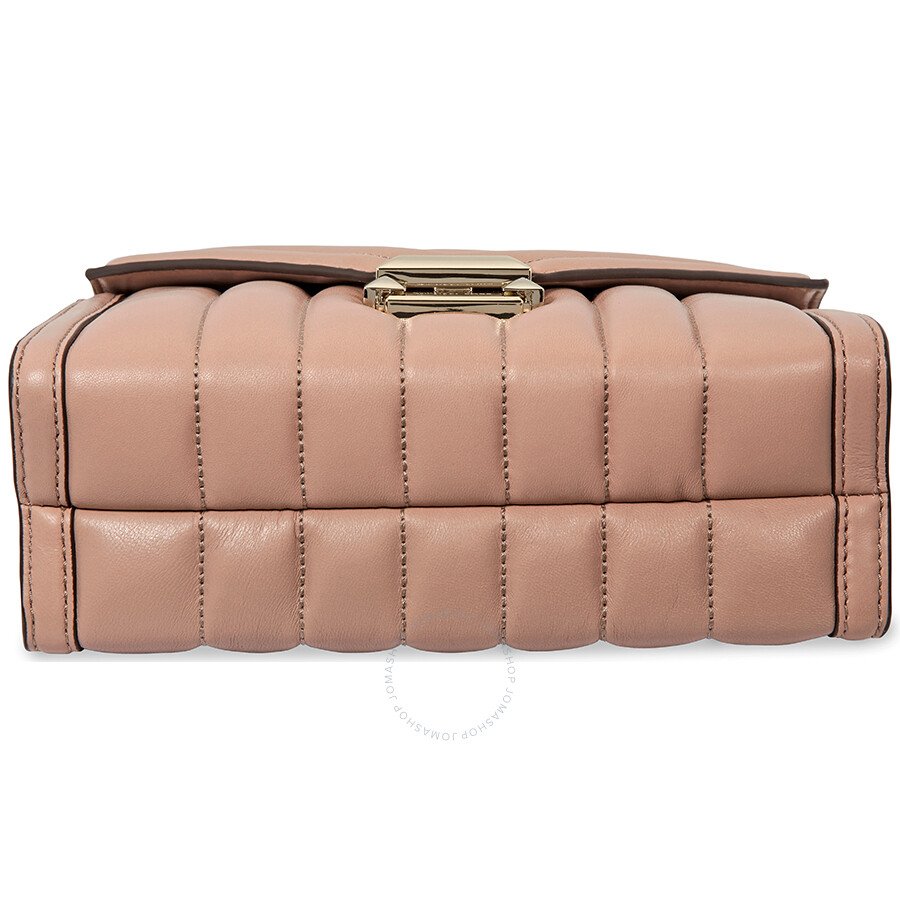 fe8705240bf6 Michael Kors Whitney Large Quilted Leather Shoulder Bag - Fawn ...