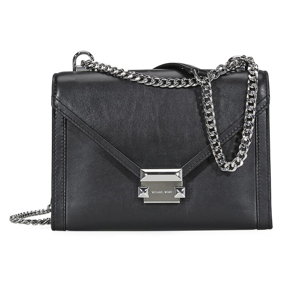 05b96ebd6722 Michael Kors Whitney Large Shoulder Bag- Black Item No. 30T8SXIL3L-001