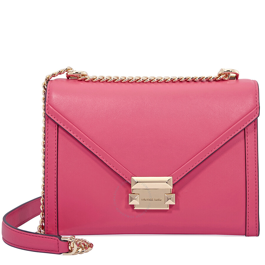 8b555e62f0d3 ... australia michael kors whitney large shoulder bag rose pink a4c42 1ccd2