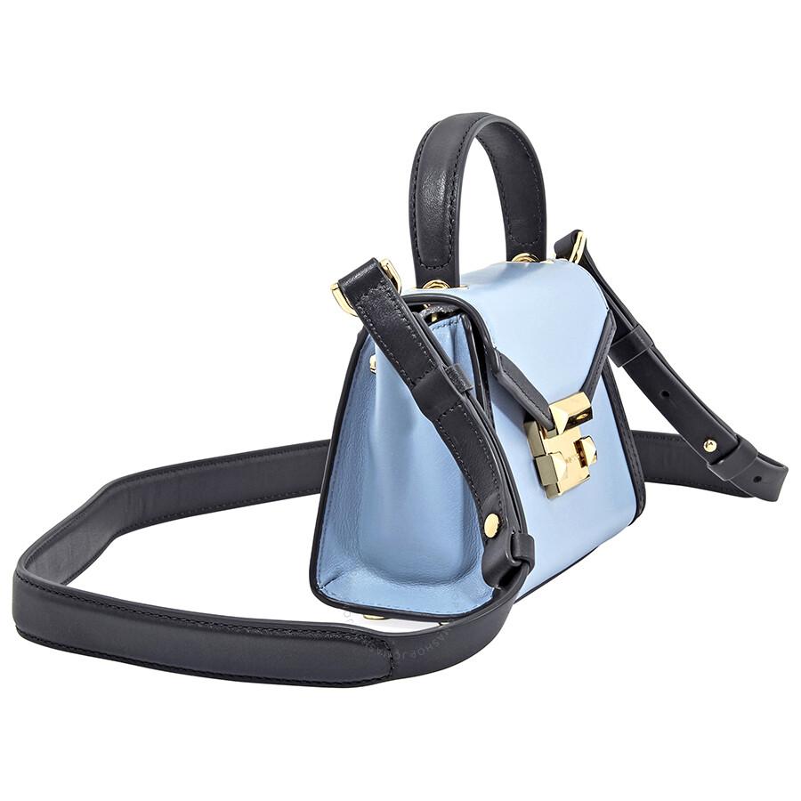 2c6387f458968f ... Michael Kors Whitney Medium Messenger Bag- Pale Blue/ Admiral ...