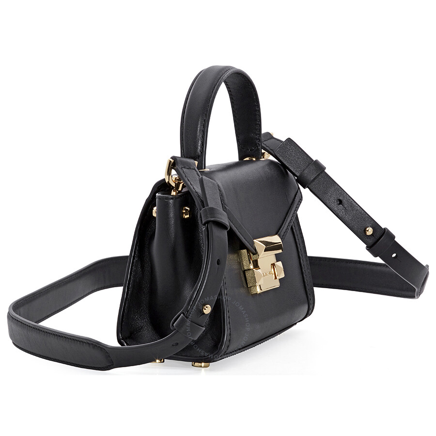6c65f9b495f6f Michael Kors Whitney Mini Leather Satchel - Black - Michael Kors ...