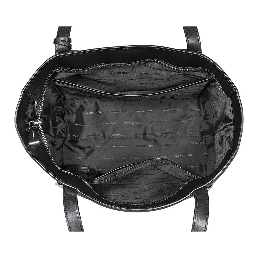 113852837720 Michael Kors Whitney Small Leather Tote- Black - Michael Kors ...