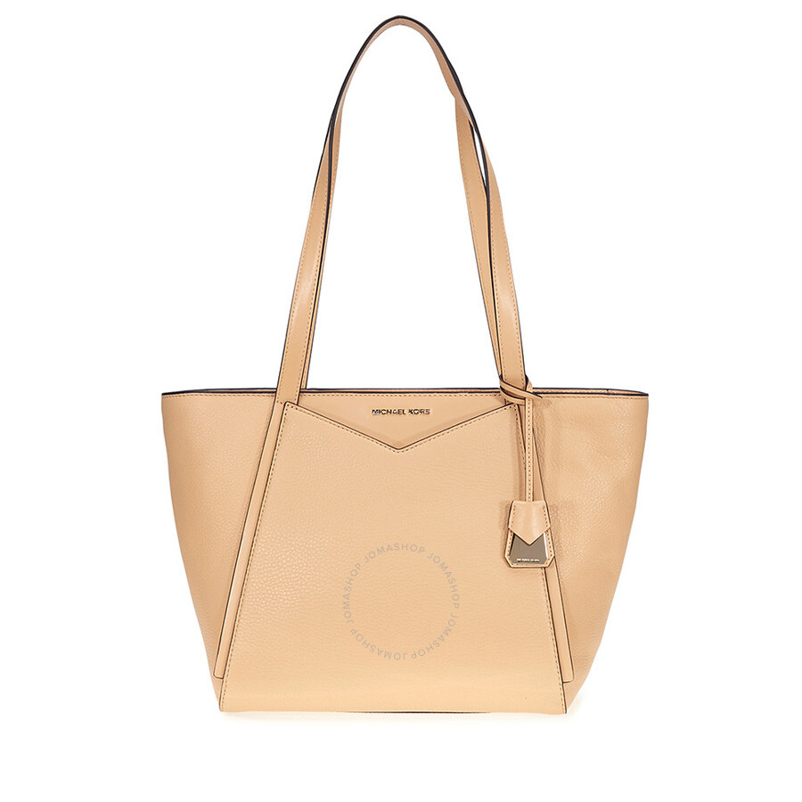 77cf16507e60 Michael Kors Whitney Small Leather Tote- Butternut Item No. 30T8TN1T1L-106