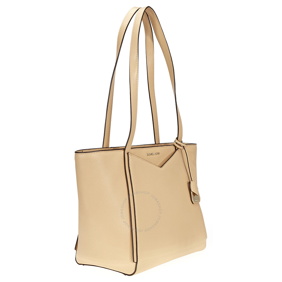 5524161aa93a Michael Kors Whitney Small Leather Tote- Butternut - Michael Kors ...