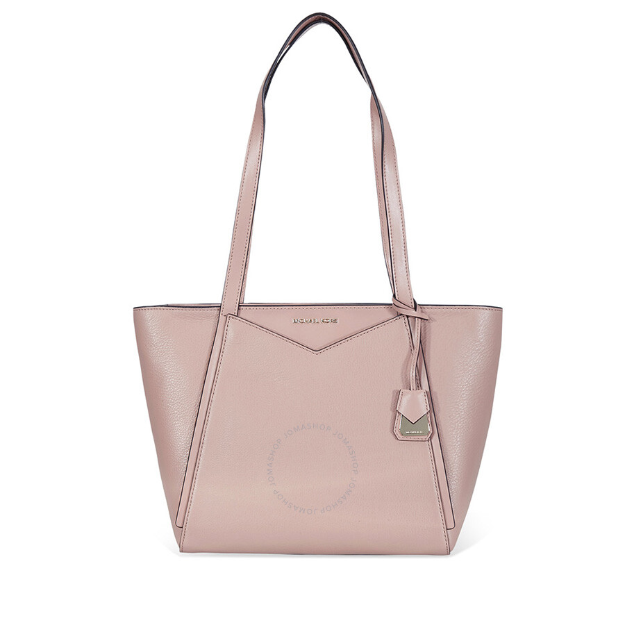 51cb14a324bb Michael Kors Whitney Small Pebbled Leather Tote - Fawn - Michael ...