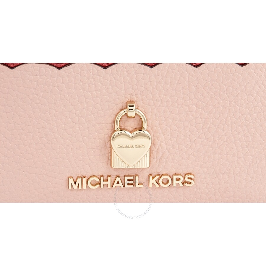 da20afe644430f Michael Kors Zip Around Colorblock Coin Card Case- Soft Pink/Multi ...