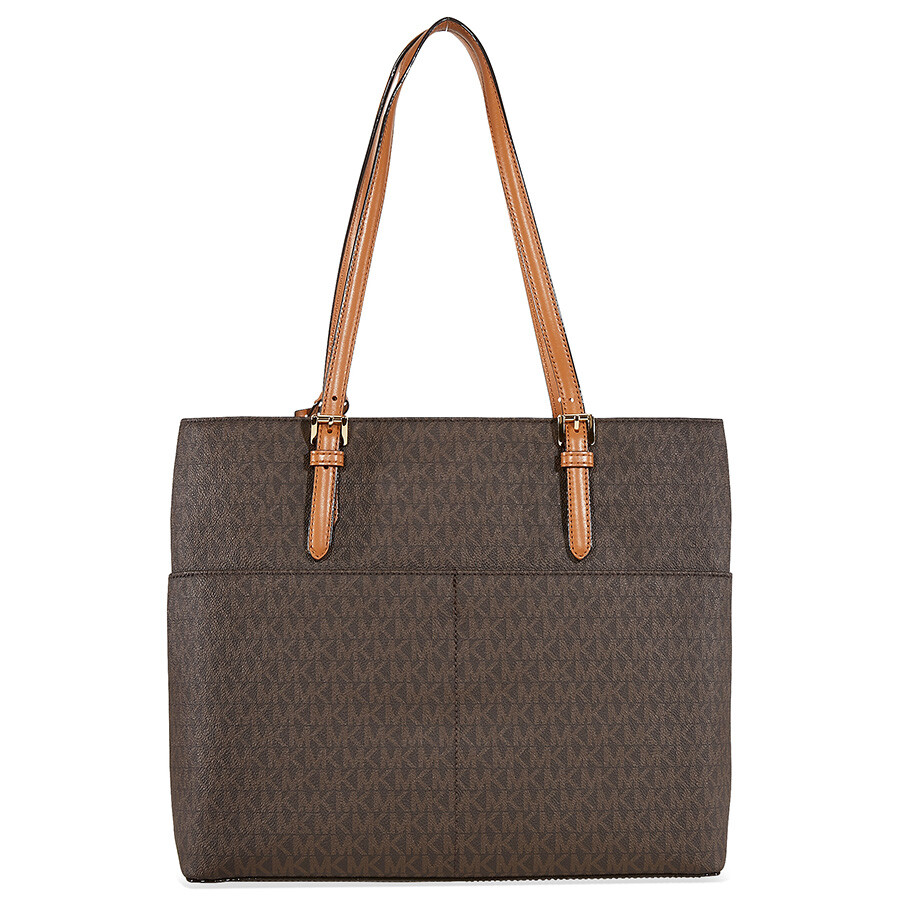 e58cfc12ffb8 Michael Kors Bedford Large Pocket Tote - Brown - Bedford - Michael ...