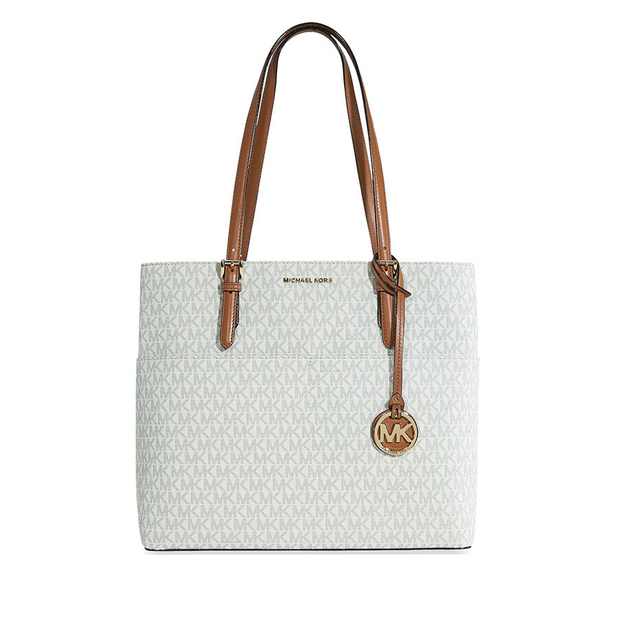 Michael Kors Bedford Large Pocket Tote Vanilla