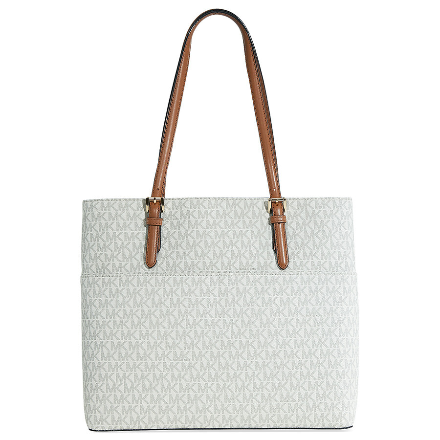 1497aa3d35179f Michael Kors Bedford Large Pocket Tote - Vanilla Item No. 30S7GBFT3V-150