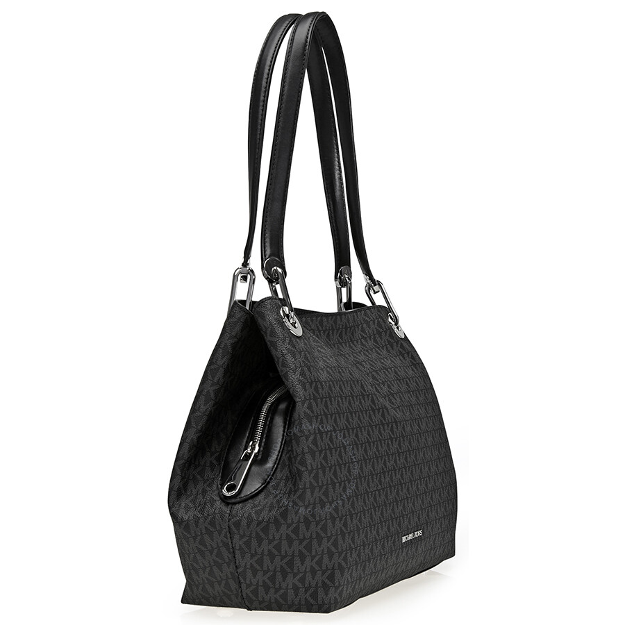 Michael Kors Raven Large Signature Tote Black