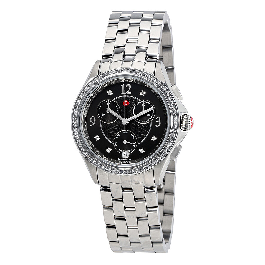 michele watches jomashop michele belmore chronograph ladies watch