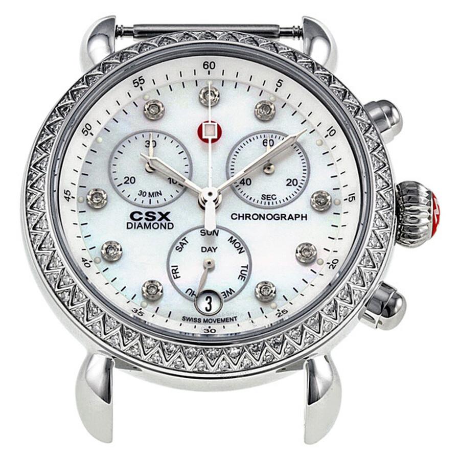 f6dad3bd93f3 Michele CSX-36 36 mm Diamond Watch 03M01A1046 - CSX - Michele ...