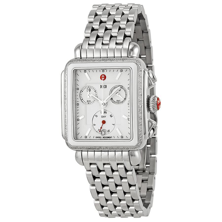 b1fba14d51d4 Michele Deco Diamond Ladies Watch MWW06P000189 - Deco - Michele ...