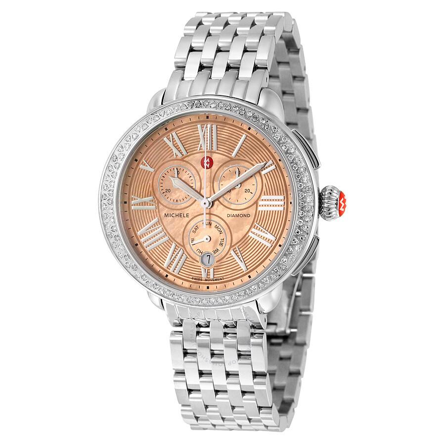 Michele Serein  Diamond Watch
