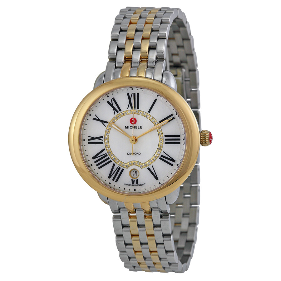 michele serein of pearl two tone
