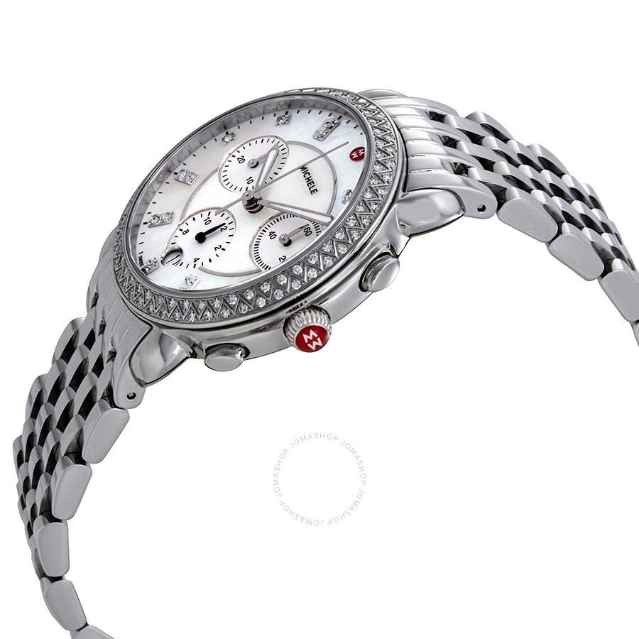 Sidney Chronograph Diamond Ladies Watch MWW30A000001