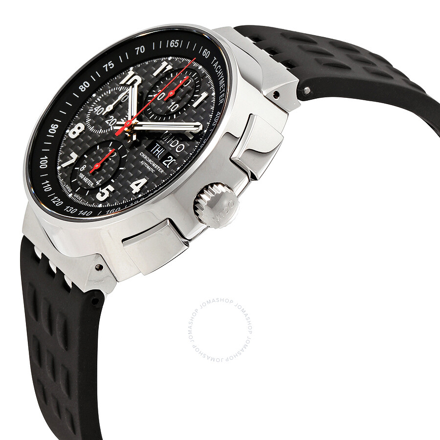 D8.9 Mido All Dial Carbon Fiber Chronograph Automatic Men's Watch M8360.4.