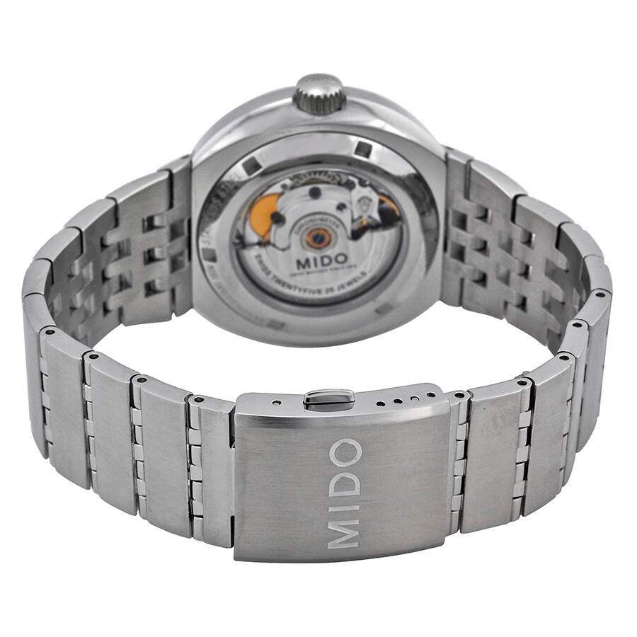 ... Mido All Dial Chronometer Automatic White Dial Stainless Steel Men's  Watch M83404B111 ...