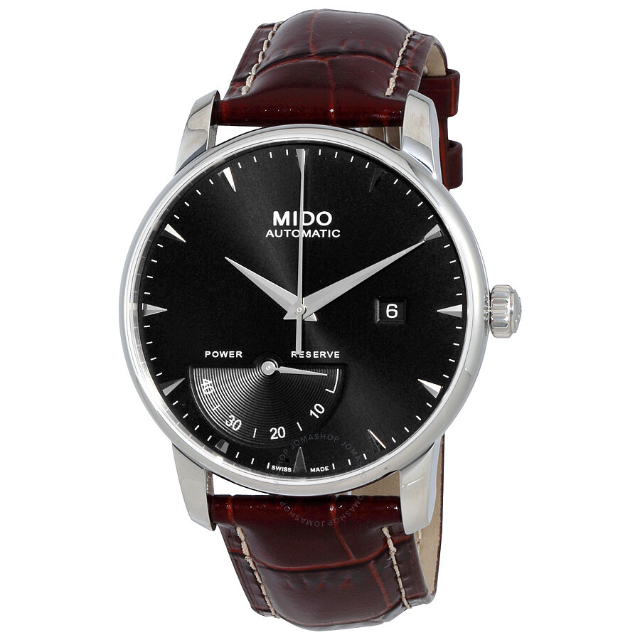Mido baroncelli automatic power reserve men 39 s watch m86054188 baroncelli mido watches for Mido watches